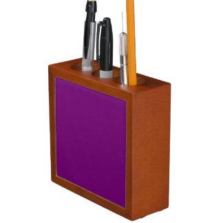 豊富な王室のな紫色(無地)の~ ペンスタンド