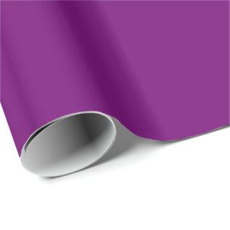 豊富な王室のな紫色(無地)の~ ラッピングペーパー