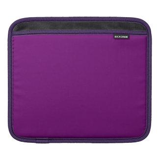 豊富な王室のな紫色(無地)の~ iPadスリーブ
