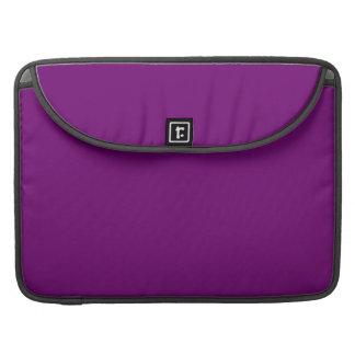 豊富な王室のな紫色(無地)の~ MacBook PROスリーブ