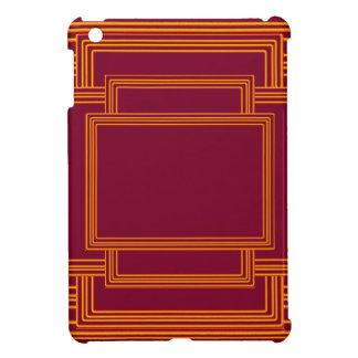豊富な金縞のボーダー iPad MINIカバー