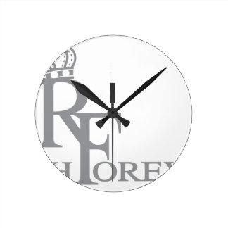 豊富なforever_11.ai ラウンド壁時計