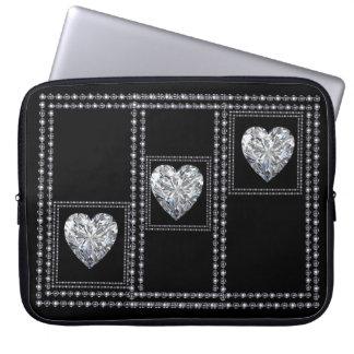 、豊富エレガント、設計されているダイヤモンドのラップトップスリーブ ラップトップスリーブ