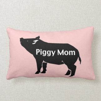 豚のようなお母さんの枕 ランバークッション