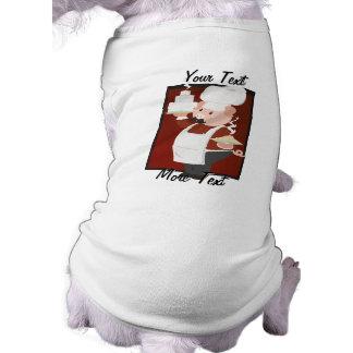豚のようなシェフ犬のワイシャツ ペット服