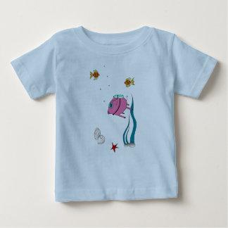 豚のようなダイバー! ベビーTシャツ