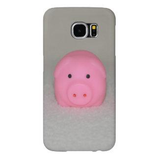 豚のようなピンクのブタ SAMSUNG GALAXY S6 ケース