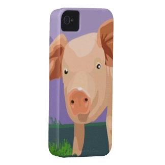 豚のようなiPhone 4/4SやっとそこにCase mate Case-Mate iPhone 4 ケース