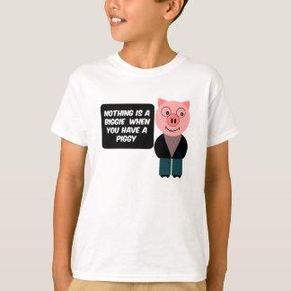 豚のようのがある時 Tシャツ