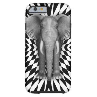 象および光学パターンデザインの道化パターン ケース