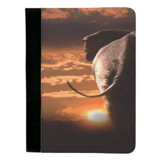 象との日没 パッドフォリオ