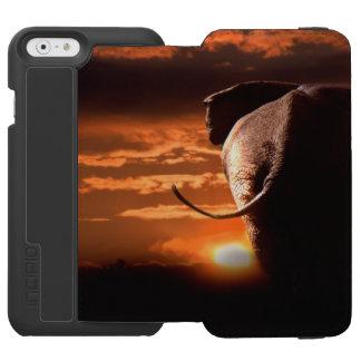 象との日没 INCIPIO WATSON™ iPhone 5 財布型ケース