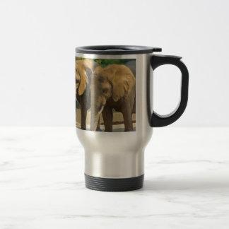 象のサファリ トラベルマグ