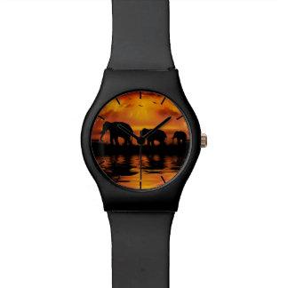 象のサファリMay28thの腕時計 腕時計