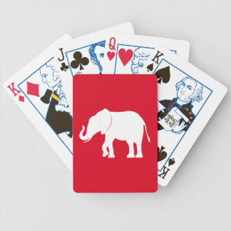 象のシルエットの政治版 バイスクルトランプ