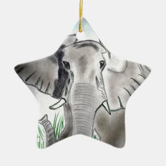 象のデザインプロダクト セラミックオーナメント