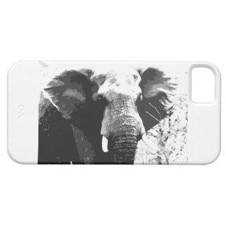 象のポートレートのIphoneの場合 iPhone SE/5/5s ケース