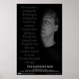 象の人の詩ポスター ポスター