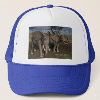 象の感謝日の帽子9月22日 キャップ