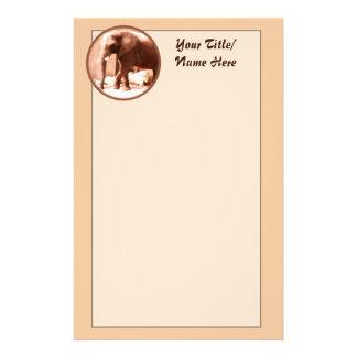 象の文房具 便箋