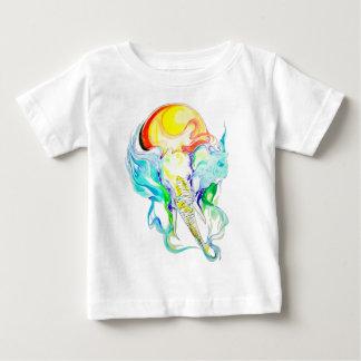 象の日光 ベビーTシャツ
