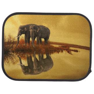 象の日没 カーマット
