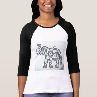 象の曼荼羅 Tシャツ