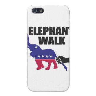 象の歩行(共和党員) iPhone 5 COVER