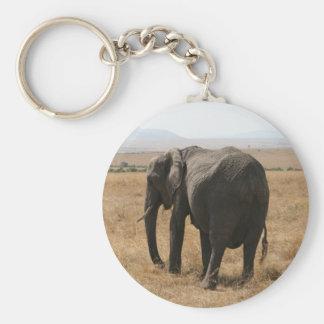 象の灰色 キーホルダー