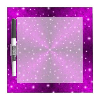 象の皮の革光学のピンクの虹 ホワイトボード
