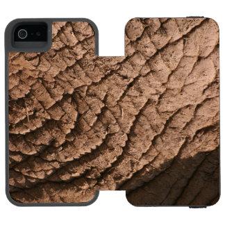 象の皮膚細胞の電話箱 INCIPIO WATSON™ iPhone 5 ウォレット ケース