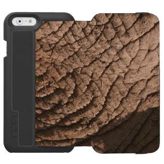 象の皮膚細胞の電話箱 INCIPIO WATSON™ iPhone 6 財布ケース