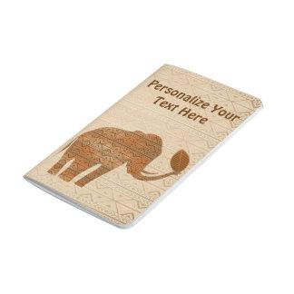 象の種族の芸術のデザインのポケットジャーナル ポケットジャーナル