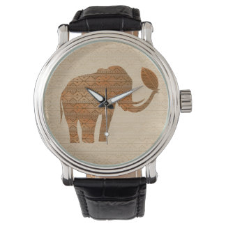 象の種族の芸術のデザインの腕時計 ウオッチ
