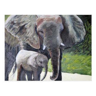 象の系列 ポストカード