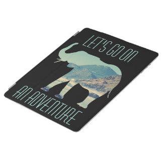 象の芸術 iPadスマートカバー