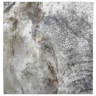 象の近い上り ナプキンクロス