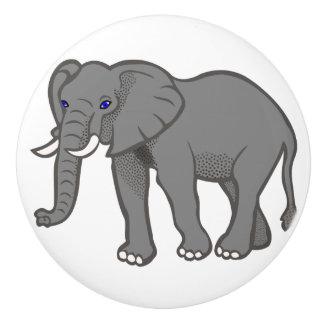 象の陶磁器のノブ セラミックノブ