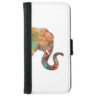 象のIphoneのウォレットケース iPhone 6/6s ウォレットケース