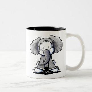 象のWestieテリア ツートーンマグカップ