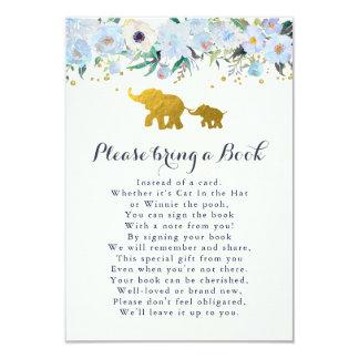 象はブックカードを持って来ます 8.9 X 12.7 インビテーションカード