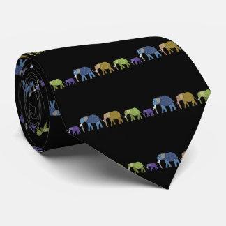 象は決してタイを忘れません オリジナルネクタイ
