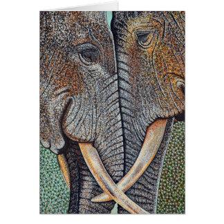 象は決して忘れません カード