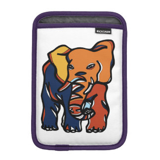 """""""象カラフルな""""のiPad Miniの柔らかい箱 iPad Miniスリーブ"""