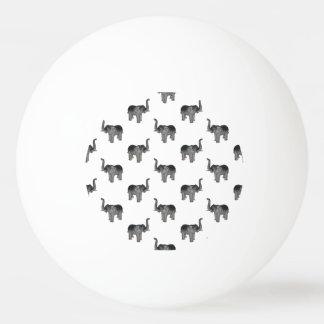 象パターン 卓球ボール