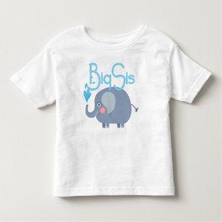 象大きいSis トドラーTシャツ