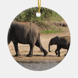 象家族 セラミックオーナメント