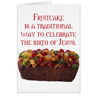 象徴的なFruitcake カード