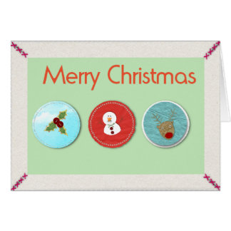 象徴的なMeryのクリスマス- カード