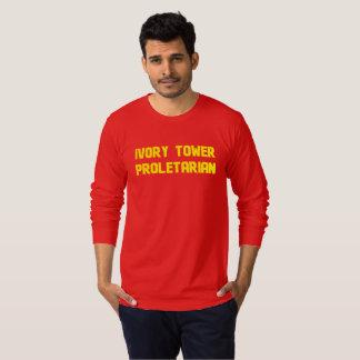 象牙の塔のプロレタリア Tシャツ